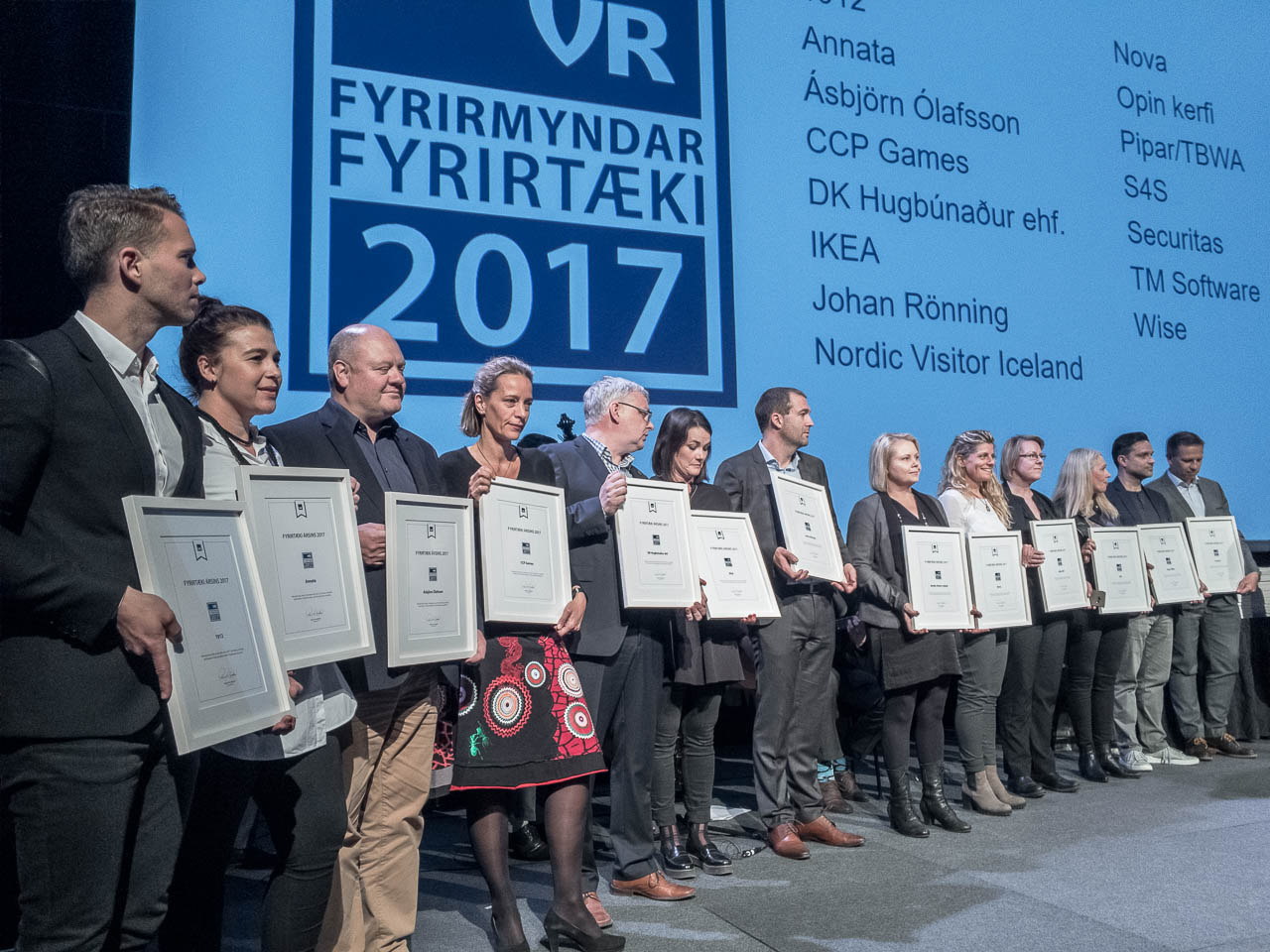 dk er Fyrirmyndarfyrirtæki VR 2017