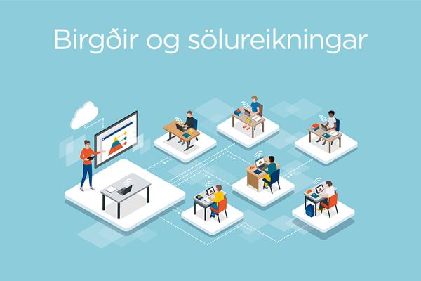Námskeið birgðir og sölureikningar